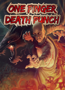 Box art for the game One Finger Death Punch