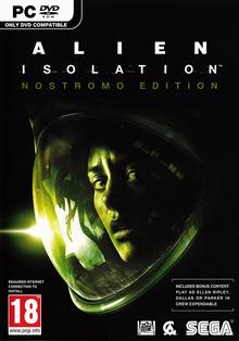 Box art for the game Alien: Isolation