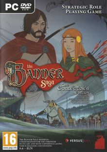 Box art for the game The Banner Saga