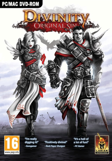 Box art for the game Divinity: Original Sin