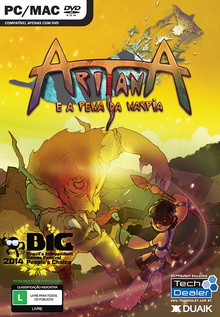 Box art for the game Aritana and the Harpy's Feather