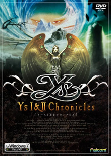 Box art for the game Ys I & II Chronicles (Ys I)