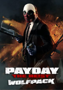 Box art for the game Payday: The Heist - Wolfpack