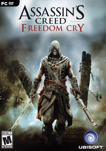 Box art for the game Assassin's Creed IV: Black Flag - Freedom Cry