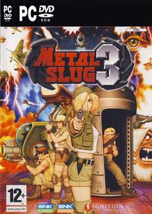 Box art for the game Metal Slug 3