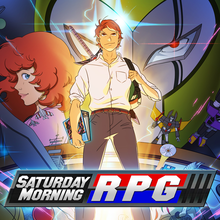 Box art for the game Saturday Morning RPG