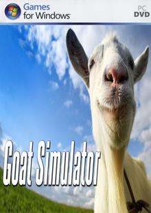 Box art for the game Goat Simulator