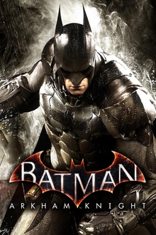 Box art for the game Batman Arkham Knight