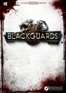 Box art for the game Blackguards