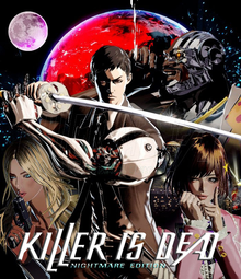 Box art for the game Killer is Dead - Nightmare Edition