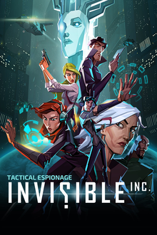 Box art for the game Invisible Inc.