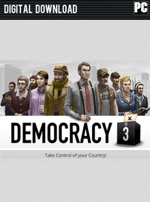 Capa do jogo Democracy 3: Social Engineering