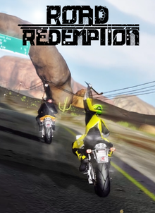 Box art for the game Road Redemption