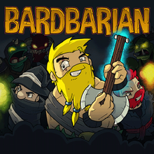 Box art for the game Bardbarian
