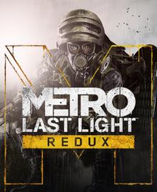 Box art for the game Metro: Last Light Redux