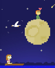 Box art for the game I Wish I Were The Moon