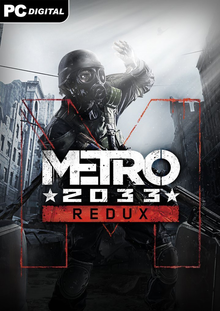 Box art for the game Metro: 2033 Redux