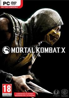 Capa do jogo Mortal Kombat X