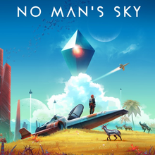 Box art for the game No Man's Sky