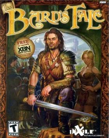 Box art for the game The Bard's Tale (2004)