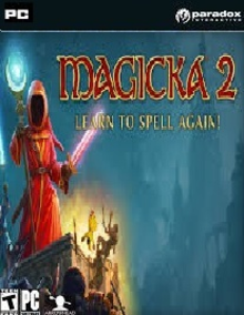 Box art for the game Magicka 2: Learn to Spell Again