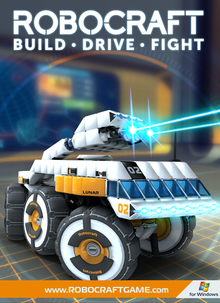 Box art for the game Robocraft