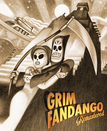 Capa do jogo Grim Fandango: Remastered