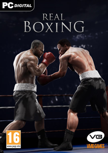 Box art for the game Real Boxing