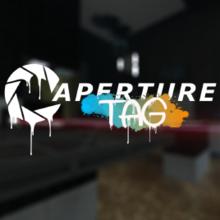 Capa do jogo Aperture Tag