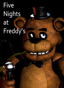 Box art for the game Five Nights at Freddy's