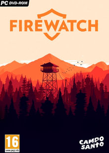 Box art for the game Firewatch