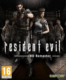 Capa do jogo Resident Evil HD Remaster