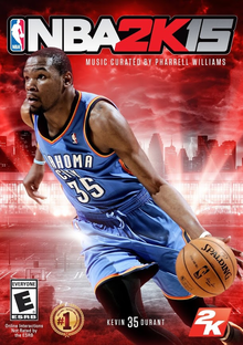 Box art for the game NBA 2K15