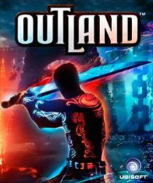 Box art for the game Outland