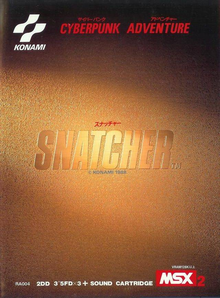 Box art for the game Snatcher