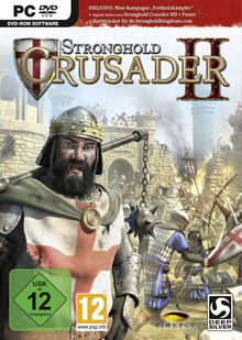 Box art for the game Stronghold Crusader 2