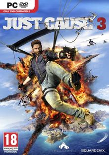 Box art for the game Just Cause 3