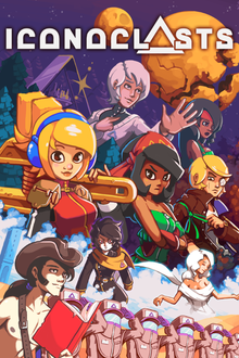 Box art for the game The Iconoclasts