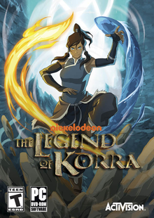 Box art for the game The Legend Of Korra