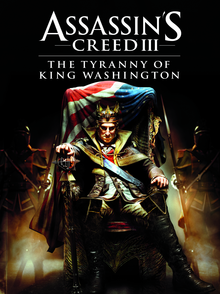 Box art for the game Assassin's Creed III - The Tyranny of King Washington
