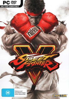Capa do jogo Street Fighter V