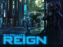 Box art for the game Satellite Reign
