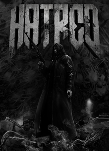 Box art for the game Hatred
