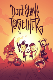 Box art for the game Don't Starve Together