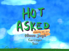 Box art for the game Hot Asked