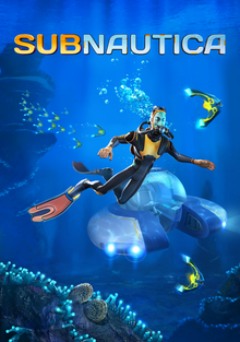 Box art for the game Subnautica