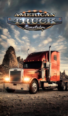 Box art for the game American Truck Simulator