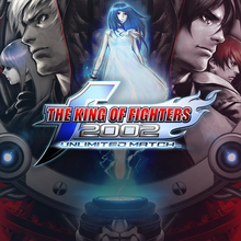Box art for the game The King of Fighters 2002 Unlimited Match
