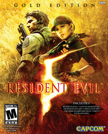 Box art for the game Resident Evil 5 Gold Edition