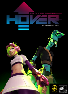 Box art for the game Hover: Revolt of Gamers